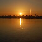 Sunset over the Nile by Jamie Shirlaw