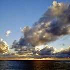 Sunset on the Tasman Sea by Anthony Woolley