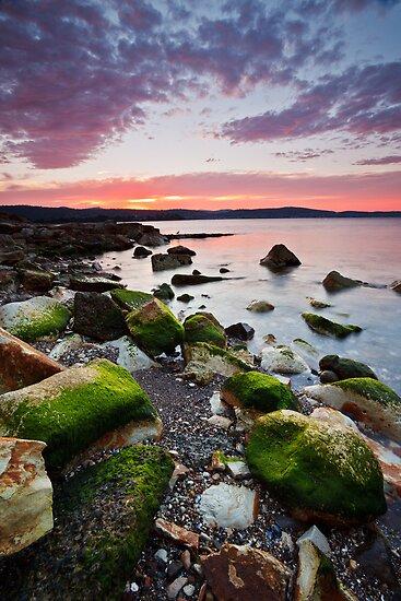 Bellerive Bluff Sunrise #5 by Chris Cobern
