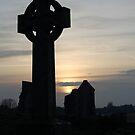 Celtic cross by Declan Carr