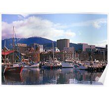 Victoria Dock, Hobart, Spring 2010—Kodachrome 64 Poster