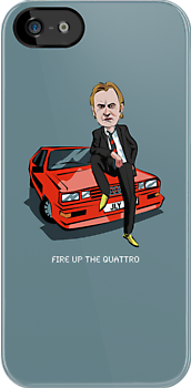 Ashes to Ashes Fire Up the Quattro  by mattoakley