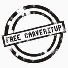 """""""Free CARVERitUP"""" Black Stamp by CARVERitUP"""