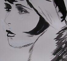 Clara Bow by Ashley Huston