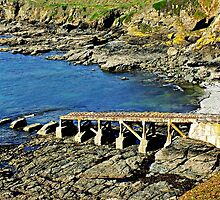 """  The first Lizard lifeboat station"" by Malcolm Chant"