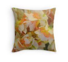 Dancing Daffodils Throw Pillow
