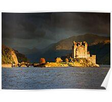 Scotland: Autumn Gold at Eilean Donan Poster