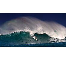 Surfer at Sunset Beach 2 Photographic Print