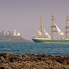 Leaving Cork Harbour by Pat O Callaghan