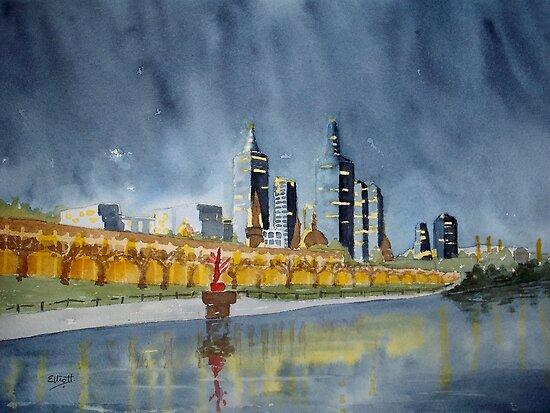 Urban Nights by Pat  Elliott