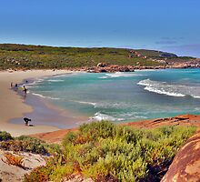 Redgate Beach on a busy day by georgieboy98