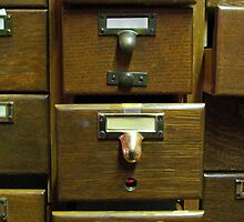 Used Card Catalog (Full of Toys) by Nevermind the Camera Photography