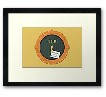 221B Bag End Framed Print
