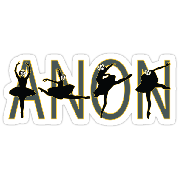 anon dance by 2piu2design