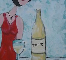 Wine O'Clock by Kym  Breeze
