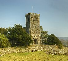 A Country Parish Church. by Jamie  Green