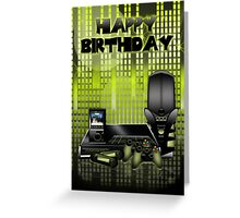 The Gadget Lovers Birthday Greeting Card Greeting Card