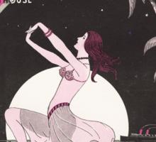 BAHAMA MAMA (vintage illustration) Sticker