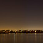 Chambly la nuit by Richard Fortier
