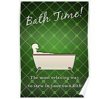 Bath Time! Poster