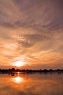 Zambezi sunset by Dan MacKenzie