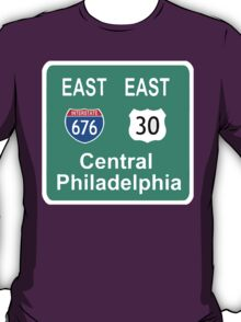 EAST PHILLY 676 FREEWAY T-Shirt