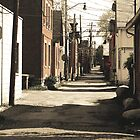 Alley (selective sepia) by lroof