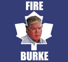 Toronto Maple Leafs - Fire Burke (white on Blue) by marinasinger