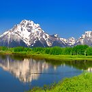 Oxbow Bend at Grand Teton  by tusharkoley