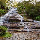 Katoomba Falls, Blue Mountains NSW by JennyMac