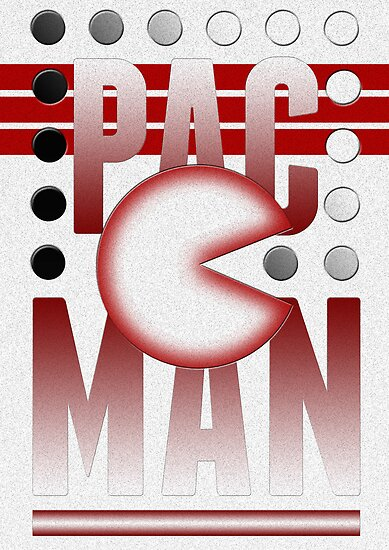 Pac-Man by the50ftsnail