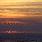 Cloudy Sunset Sky - Cielo de Atardecer con Nubes  by PtoVallartaMex