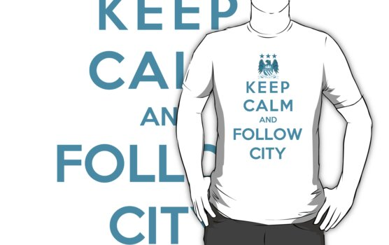 Keep Calm And Follow City by Royal Bros Art