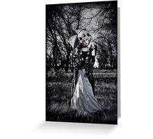 Dead Forest III Greeting Card