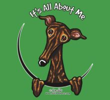 Dark Brindle Greyhound IAAM by offleashart