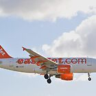 Easy Jet A319 by merlin676