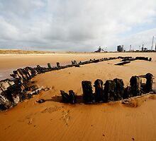 Bran Sands wreck by PaulBradley