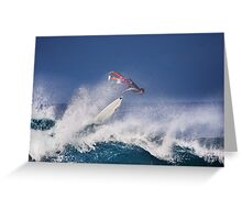 Pipeline Surfer 2 Greeting Card