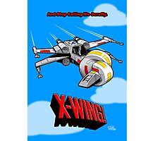 X-Wing! Photographic Print