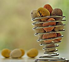 mini eggs by Gregoria  Gregoriou Crowe