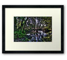 The Hidden Tree Fort Framed Print