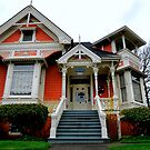 Ralston House 1889 by Charles &amp; Patricia   Harkins ~ Picture Oregon