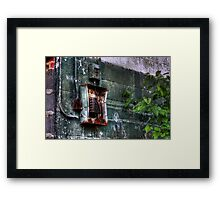 Electro Decay Framed Print