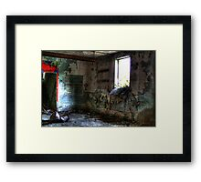 Air it out Framed Print