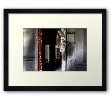 Can you find the face? Framed Print