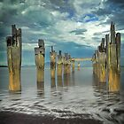 Old Jetty - Flinders Island by Greg Earl