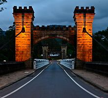 Historic Hampton Bridge. by Julie  White
