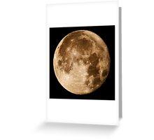 Hawaii's Super Moon Greeting Card