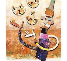 Cat Juggler by Beesty
