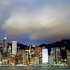 Hong Kong City Lights by Anthony Woolley